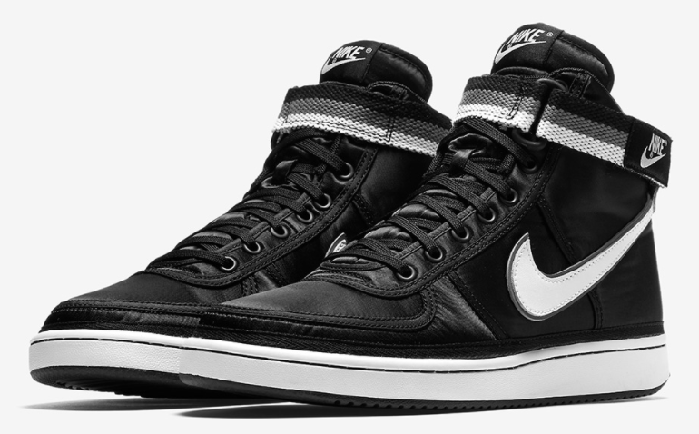 The Nike Vandal High Supreme In Classic Black And Grey