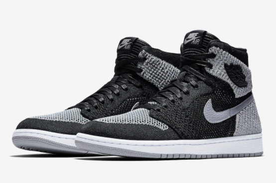 "Air Jordan 1 Retro High Flyknit ""Shadow"""