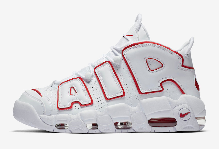 "Nike Air More Uptempo ""Varsity Red"""