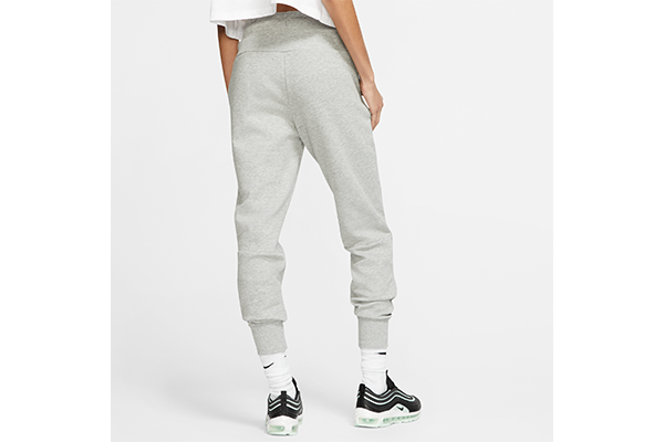 NIKE W TECH FLEECE JOGGER DK GREY HEATHER/MATTE SILVER-WHITE BV3472-063