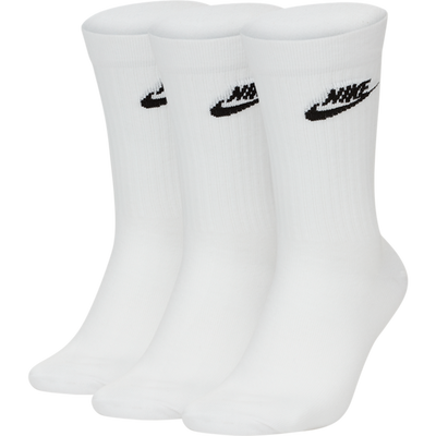 NIKE SPORTSWEAR ESSENTIAL SOCKS WHITE/BLACK
