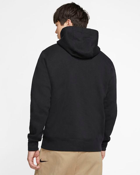 Men's Nike NSW Club Fleece Hoodie - Black | Exclucity