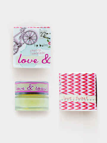 Love & Toast Cherry Lemonade Lip Balm