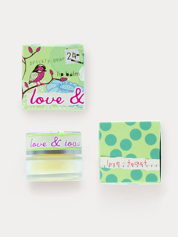 Love & Toast Prickly Pear Lip Balm