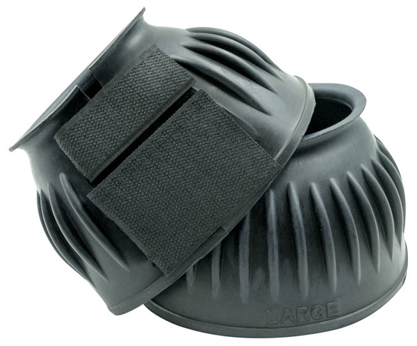 Equi-Tek Soft Ribbed Bell Boots w/Velcro