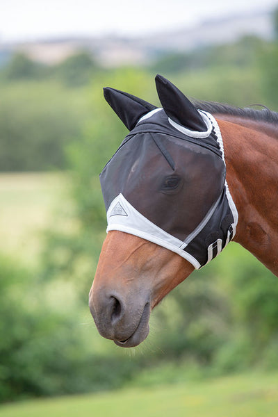 Fine Mesh Fly Mask with Ears 60+% UV