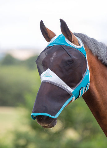 Fine Mesh Fly Mask with Ear Holes & Nose 60+% UV