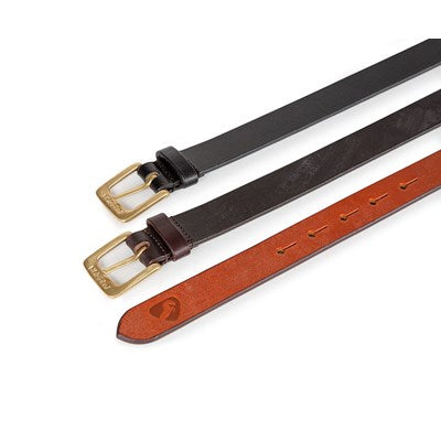 Aubrion 25mm Skinny Leather Belt