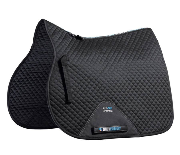 Plain Cotton Saddlepad- GP/Jump Square