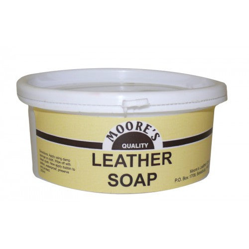 Moores Leather Soap 250ml