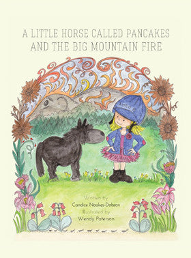 A little Horse called Pancakes and his big mountain Fire
