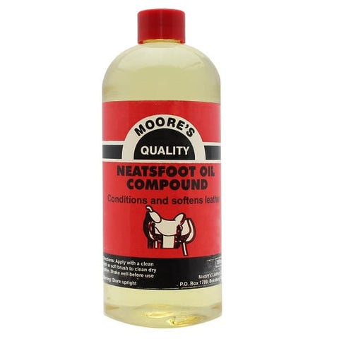 Moores Neatsfoot Oil Compound 500ml