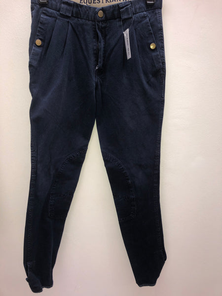 2nd Hand EA Mens Breeches / Navy / 28