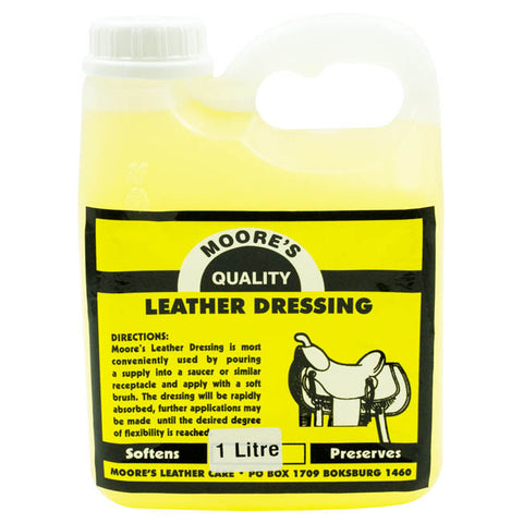 Moores Leather Dressing 1L