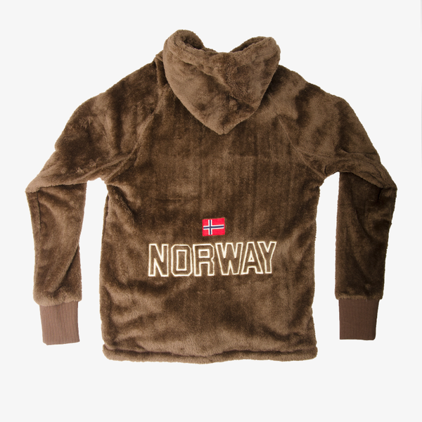 Norway Teddy Jacket Aztec Brown