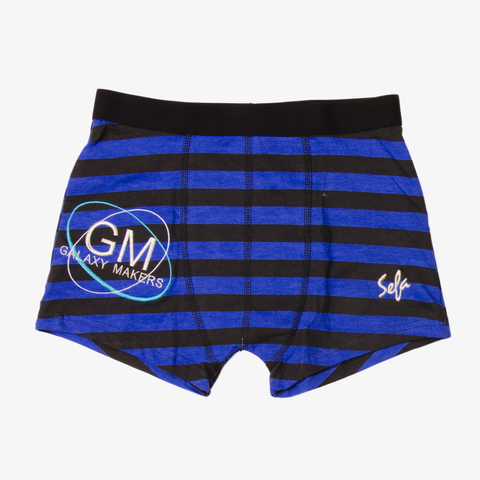 Black Blue Galaxy Makers Boxers