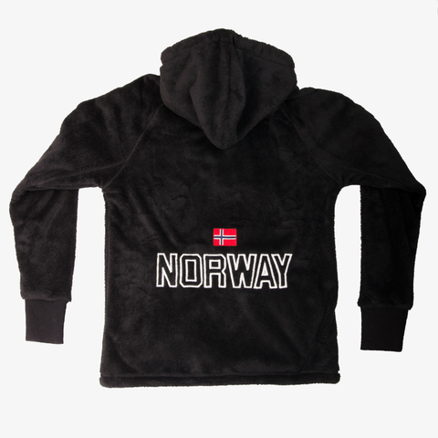 Norway Teddy Jacket Black