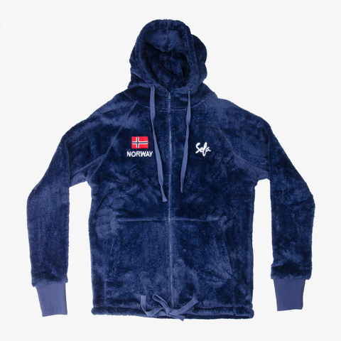 Norway Teddy Jacket Blue