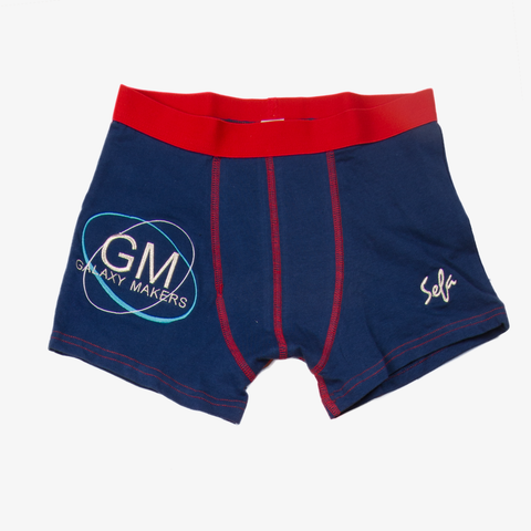 Red Marine Galaxy Makers Boxers