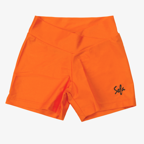 Sefa PeeWee Neon Orange Hotpants