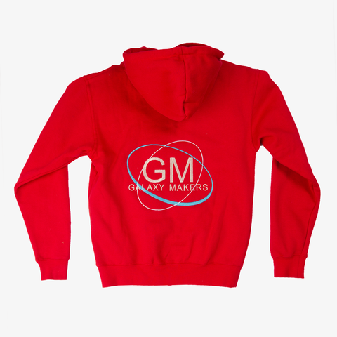 Galaxy Makers Solar Red Hoodie Jacket