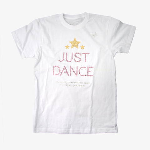 Just Dance White Club T-shirt