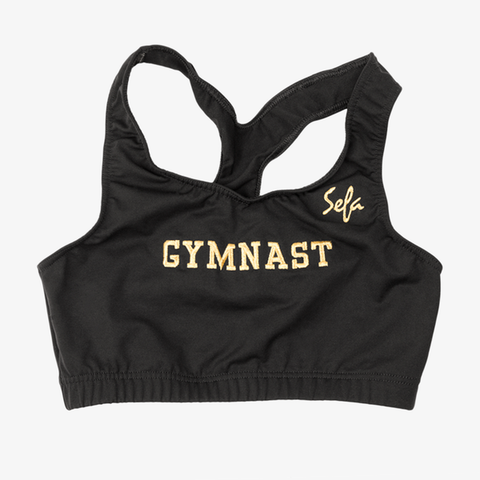 Embroidered Gymnast Top