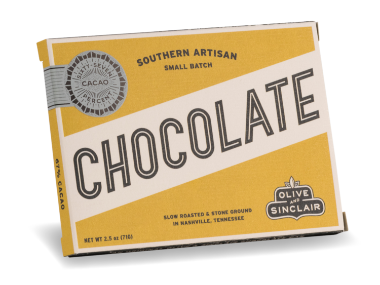 Olive & Sinclair 67% Cacao Chocolate Bar