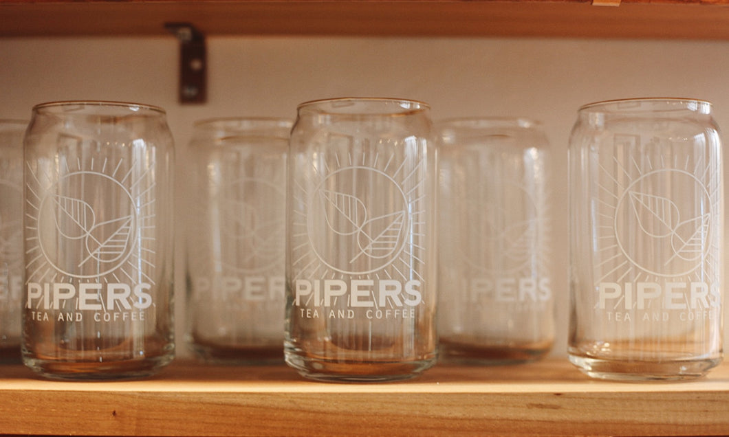 Pipers Can Glass