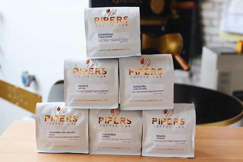 Pipers Yearly Coffee Subscription