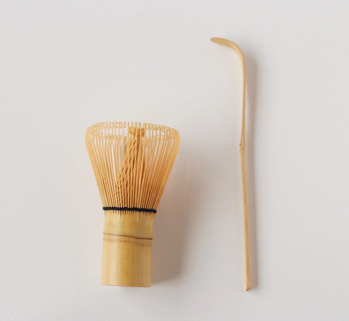 Matcha Bamboo Whisk & Spoon Set