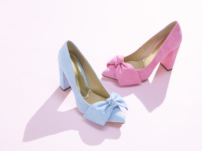 Alicia suede pumps · Baby blue -  SILVIA LAGO™ | Comfortable Designer Shoes