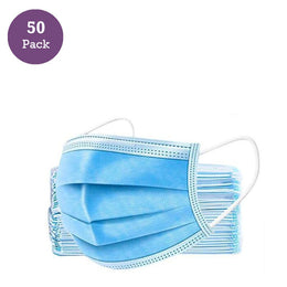 Face Mask 3 Layer Disposable 50/Box