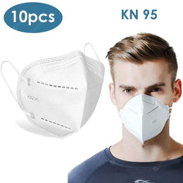 Face Mask KN95 FDA & CE Registered 10/pkg