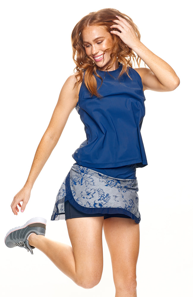 tennis apparel brands Game On tank tennis clothes for women