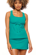 Be My Baby Doll Top Emerald Green