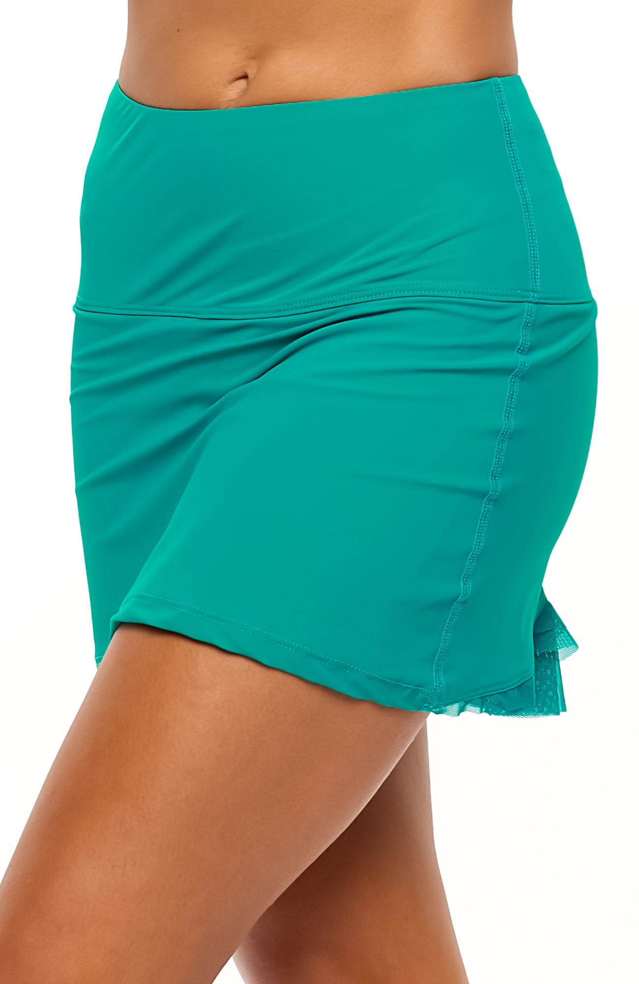 Cute as a Bunny Skirt Emerald Green tennis dresses side view