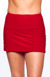 Cute as a Bunny Skirt Rosso front view tennis apparel