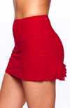Cute as a Bunny Skirt Rosso tennis apparel side view