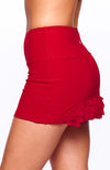 Cute as a Bunny Skirt Rosso side view tennis outfits