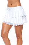 Side View tennis outfits women white Skirt Side view