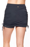 Rocking the Drawstring Skort Beautiful Black