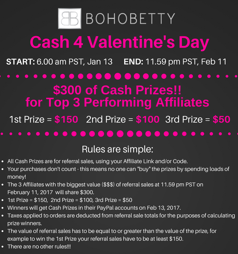 Valentines Cash Competition