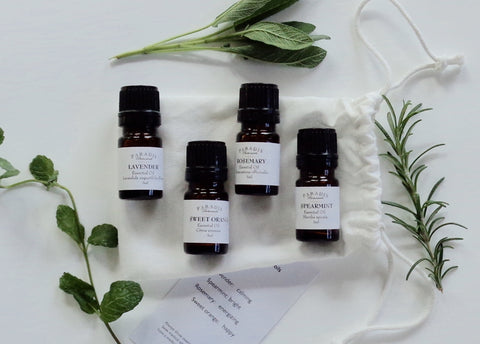 Essential Oil Set - Uplifting