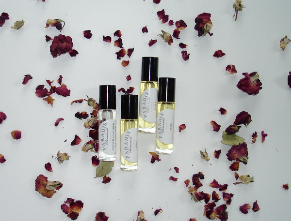 Mini roll on perfume oils