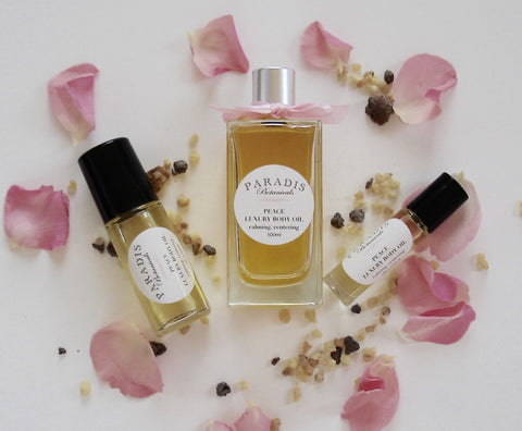 Peace, Rose Frankincense Body Oil