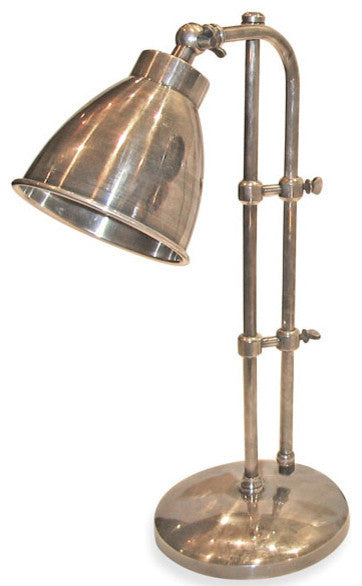 Industrial Steel Pharmacy Style Lamp