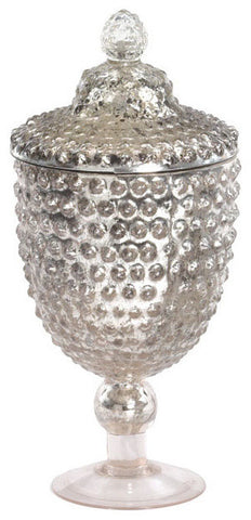 Large Dotted Sliver Jar