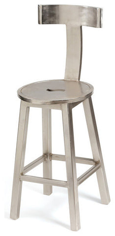 Seat Height Steel Finish Barstool