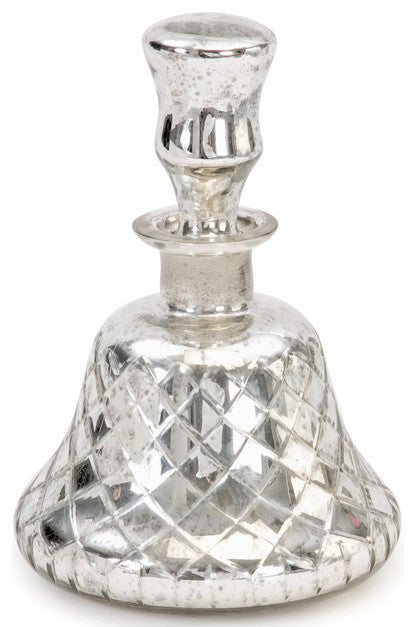 Vintage Silver Bell Decanter